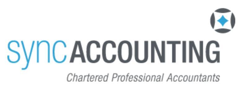 Sync Accounting Logo